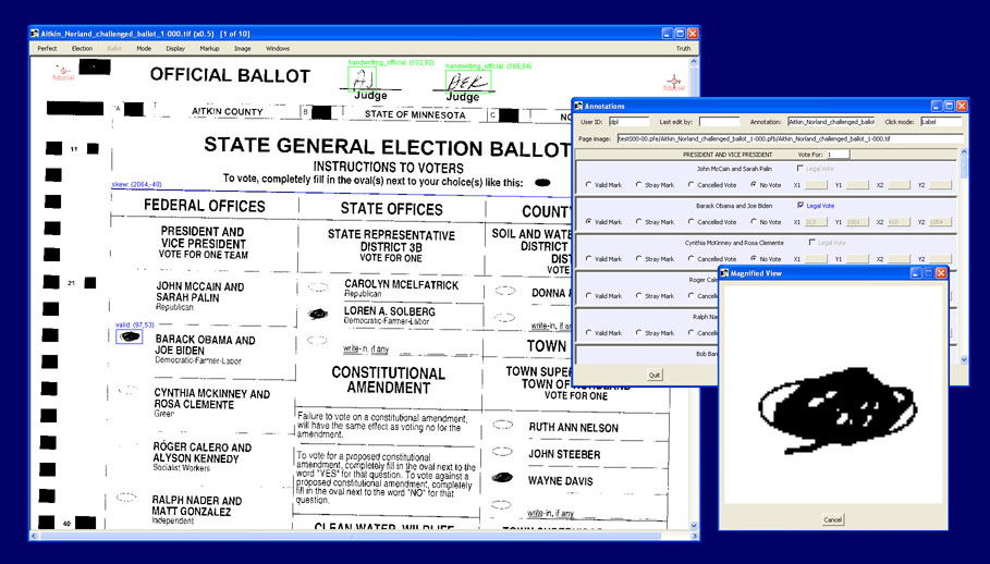 BallotTool screen snapshot